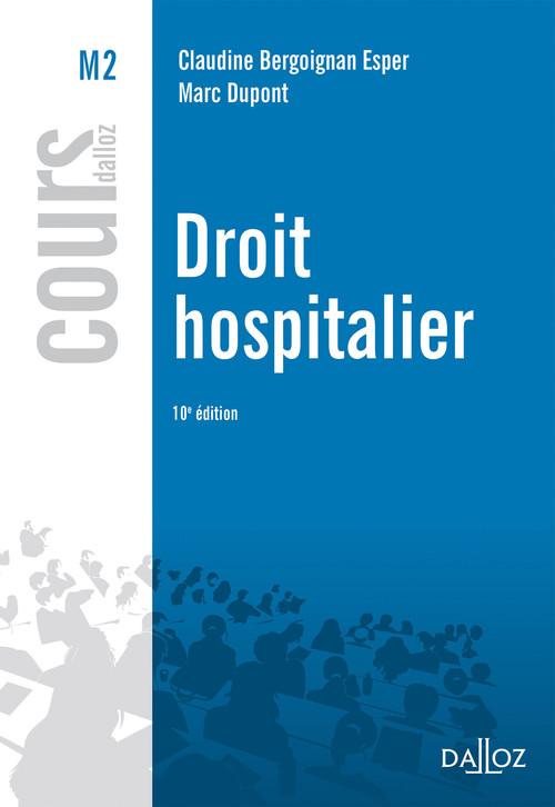 droit hospitalier (10e édition)