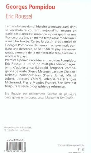 Georges Pompidou ; 1911-1974