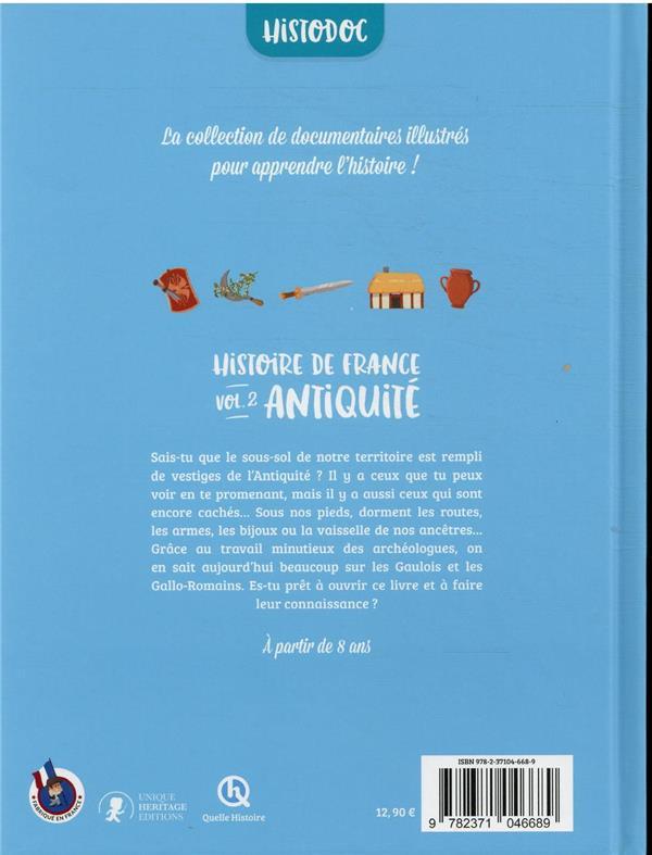 Histoire de France t.2 : Antiquité