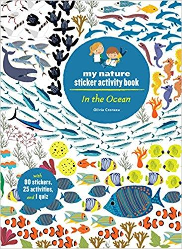 In the ocean ; my nature sticker activity book