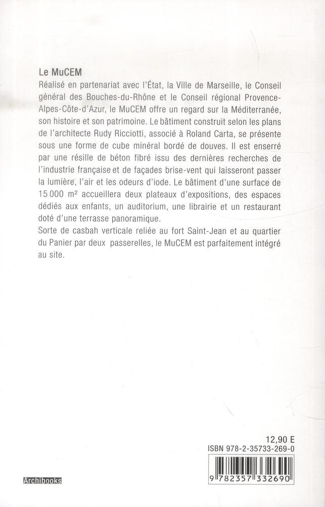 musée des civilisation de l'Europe et de la méditerranée ; MuCEM par Rudy Ricciotti