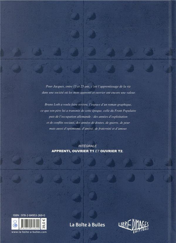 Mémoires d'un ouvrier ; avant-guerre et sous l'Occupation