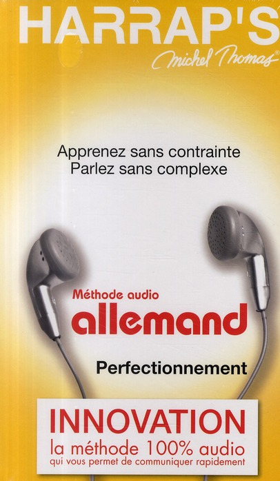 Harrap'S Michel Thomas ; Methode Audio Allemand ; Perfectionnement