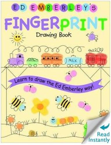 Ed emberley drawing book fingerprint /anglais