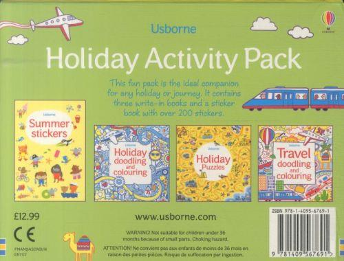 HOLIDAY ACTIVITY PACK - CONTAINS 4 FUN-FILLED BOOKS