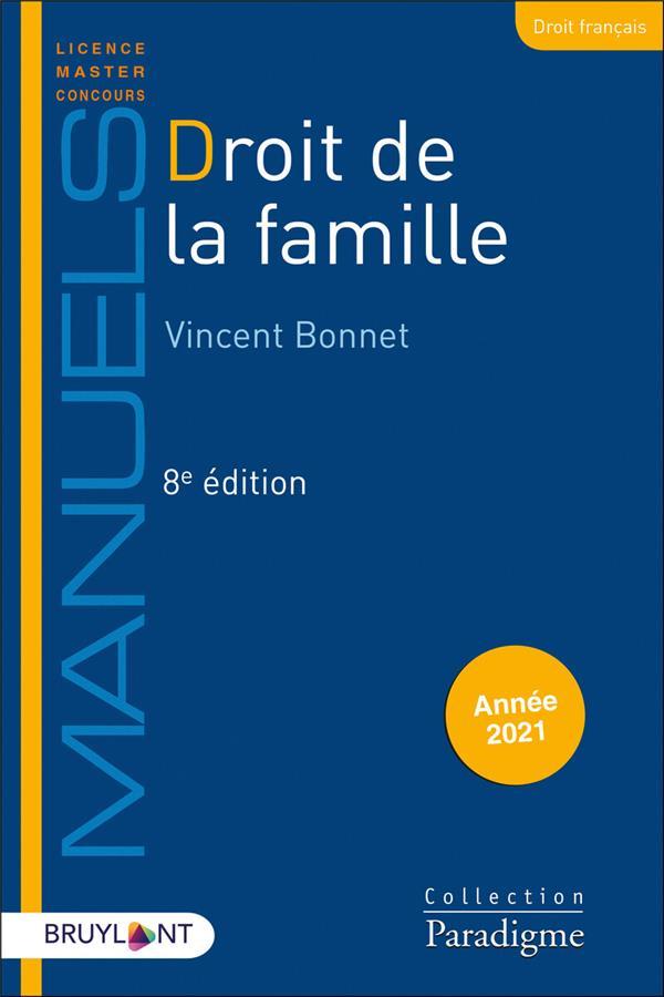 Droit de la famille (édition 2021)