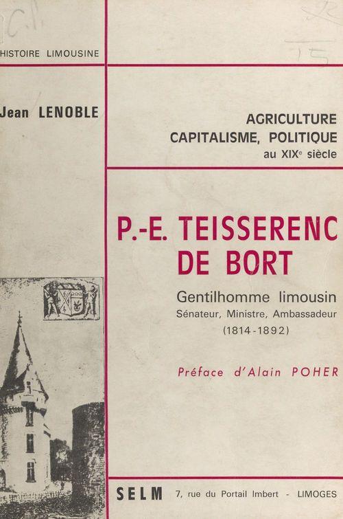 P.-E. Teisserenc de Bort  - Jean Lenoble