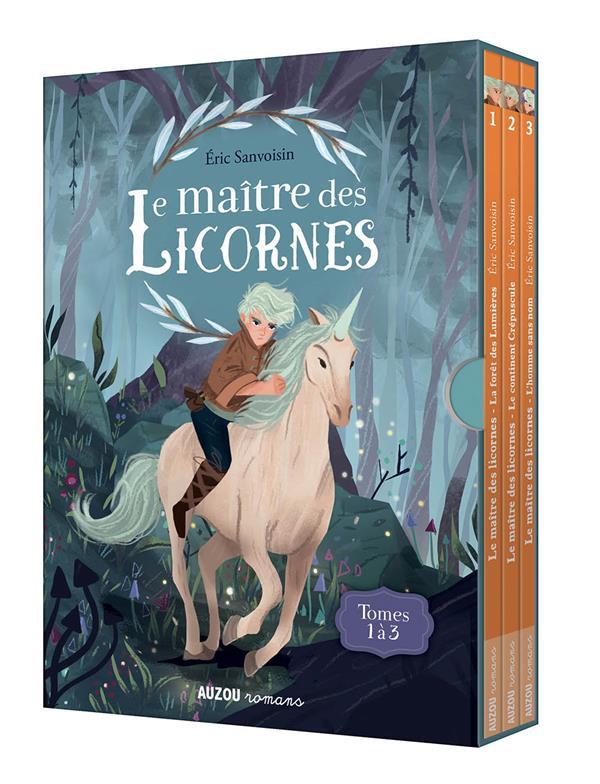 LA SAGA DES LICORNES - T01 - COFFRET TRILOGIE LE MAITRE DES LICORNES - TOMES 1 A 3