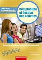 Comptabilite Et Gestion Des Activites ; Terminale Professionnelle Comptabilite ; Pochette Controles T.1
