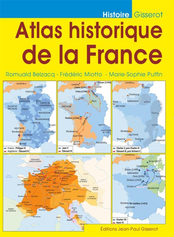 atlas historique de la France