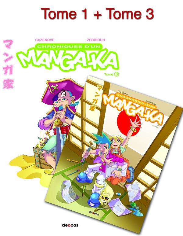 Chronique manga-ka t.1 et t.3