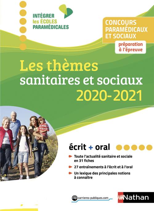 Les thèmes sanitaires et sociaux (édition 2020/2021)