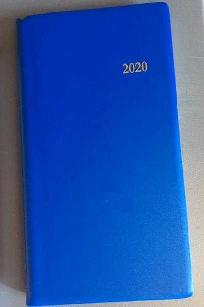L'AGENDA DU CHRETIEN 2020. BLEU