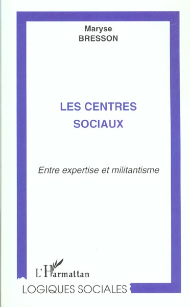 LES CENTRES SOCIAUX