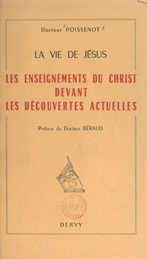 La vie de Jésus  - Camille-Léon Poissenot