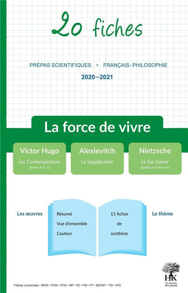 DERIES, GERALDINE - 20 FICHES  -  DE FRANCAIS SUR LE THEME 2020-2021 EN PREPA SCIENTIFIQUE (EDITION 20202021)