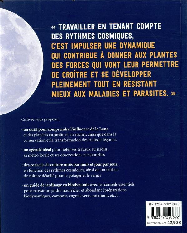 jardiner avec la lune en biodynamie (édition 2020)