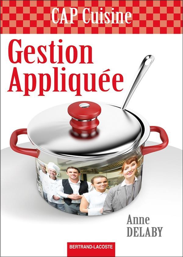 Gestion appliquee - cap cuisine