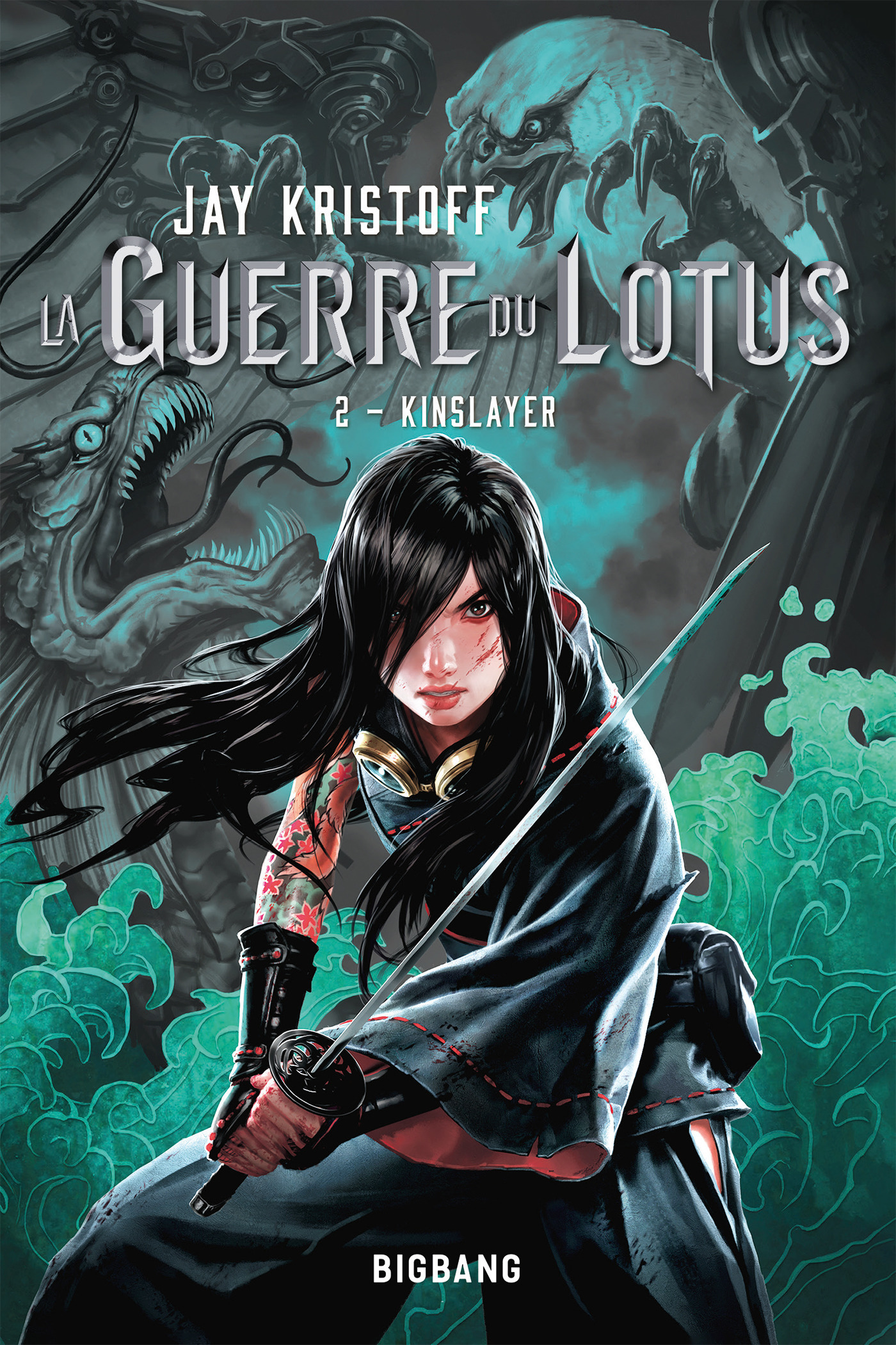 La guerre du lotus T.2 ; Kinslayer