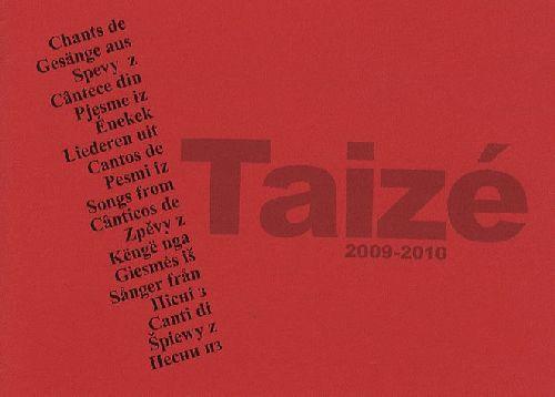 Chants de Taize (édition 2009/2010)