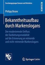 Bekanntheitsaufbau durch Markenslogans  - Philipp Brune