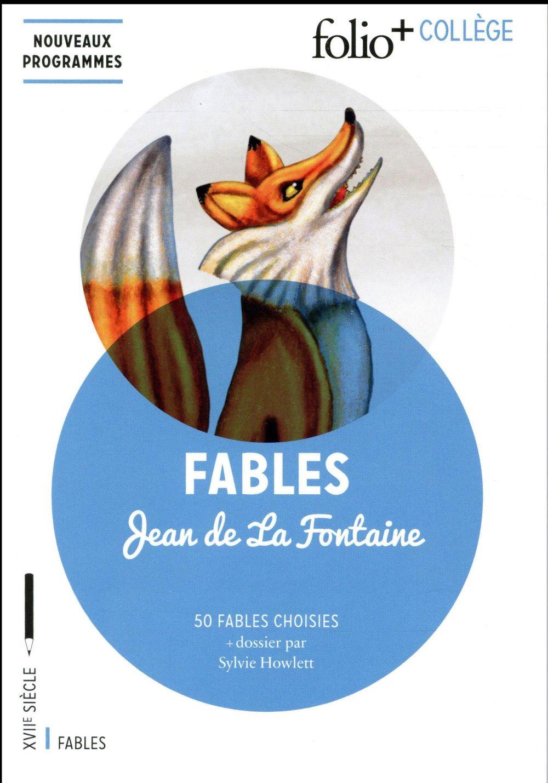 Fables ; 50 textes choisis