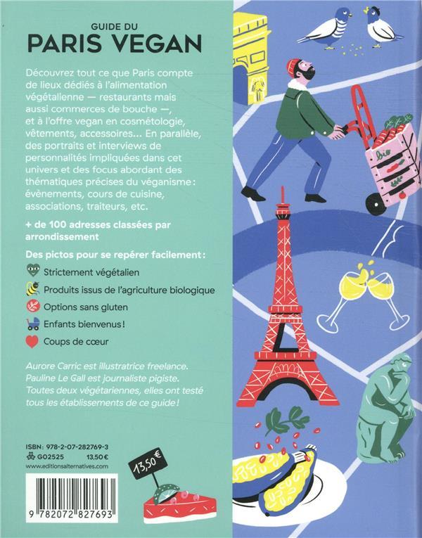 Guide du Paris vegan ; restaurants, épiceries, boutiques (édition 2019/2020)