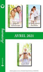 Pack mensuel Harmony : 3 romans (Avril 2021)  - Christine Rimmer - Nina Singh - Katrina Cudmore