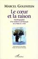 Le Coeur et la Raison  - Marcel Goldstein