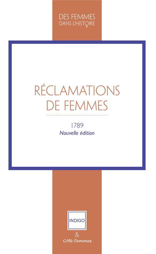 Réclamations de femmes ; 1789