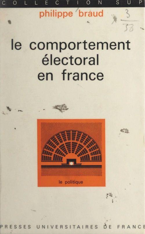 Le comportement électoral en France