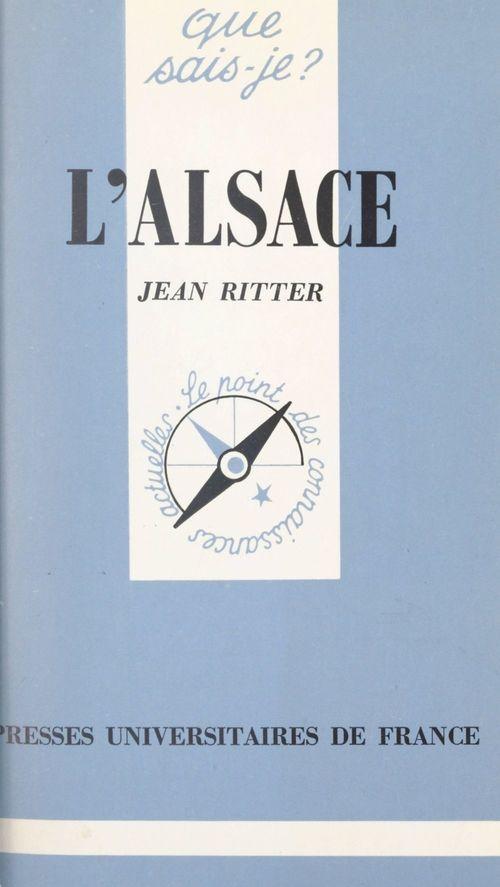 L'Alsace  - Jean Ritter