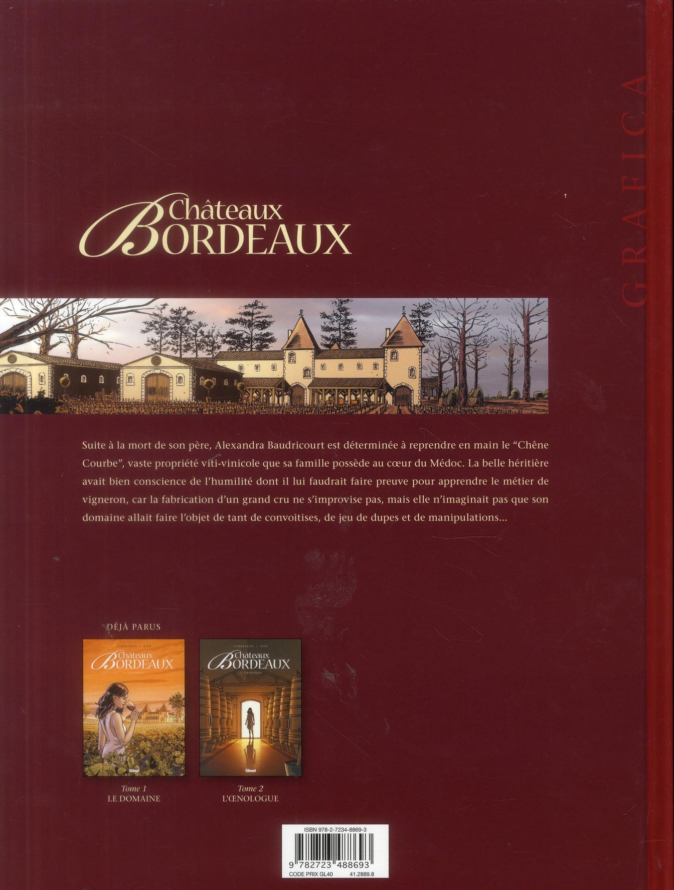 Châteaux Bordeaux T.3 ; l'amateur