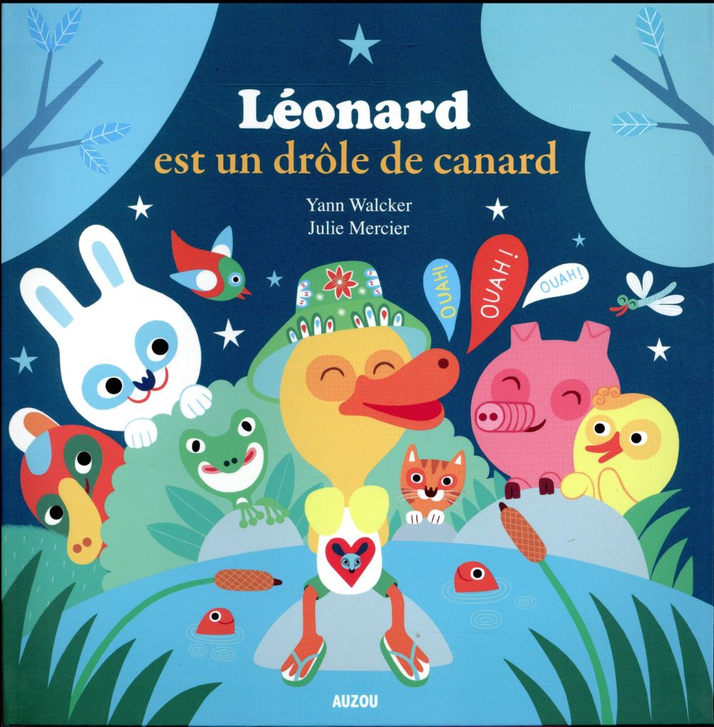 Léonard est un drôle de canard !