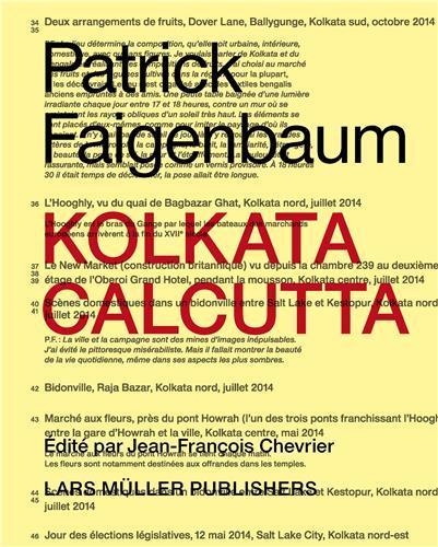 Patrick faigenbaum kolkata calcutta