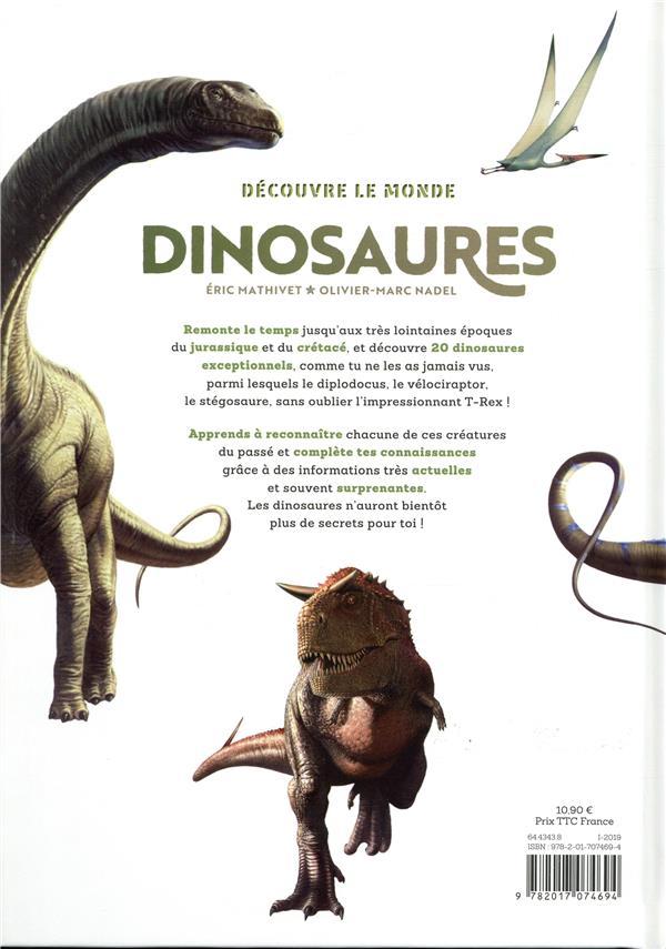 Découvre le monde ; dinosaures