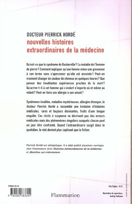 Nouvelles histoires extraordinaires de la medecine