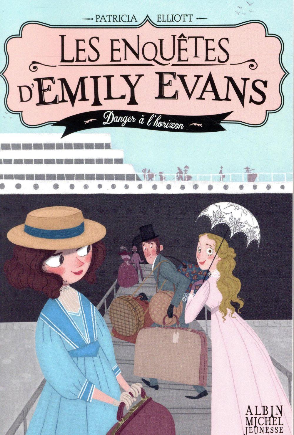 Les enquêtes d'Emily Evans T.2 ; danger à l'horizon