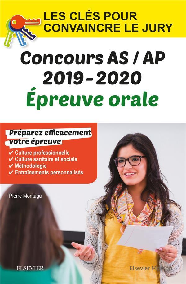 Concours aide-soignant et auxiliaire de puériculture ; épreuve orale IFAS/IFAP ; les clés pour convaincre le jury (édition 2019/2020)