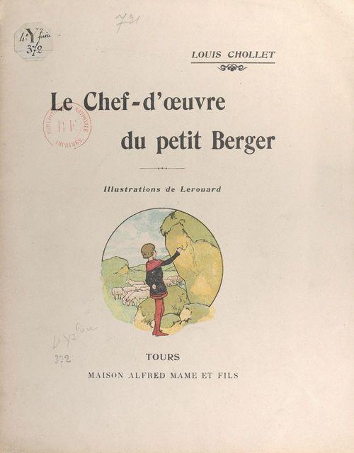 Le chef-d'oeuvre du petit Berger