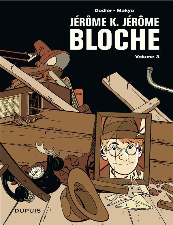 Jérôme K. Jérôme Bloche ; Intégrale vol.3 ; t.7 à t.9