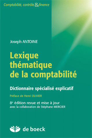 Lexique Thematique De La Comptabilite