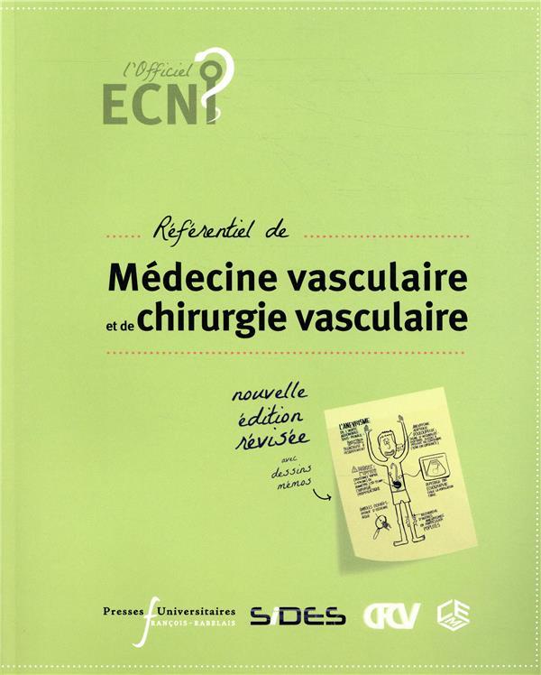 ECN ; référentiel de médecine vasculaire et de chirurgie vasculaire (2e édition)