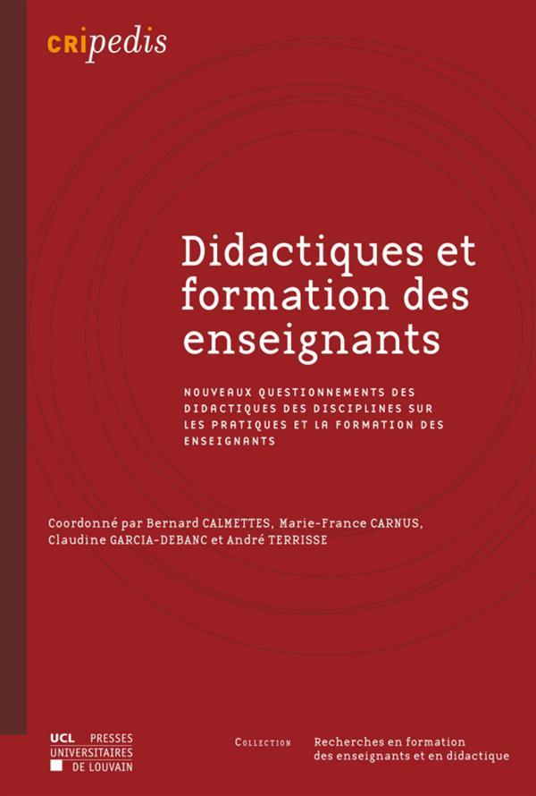Didactiques et formation des enseignants