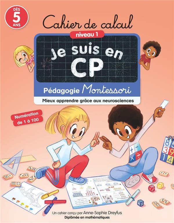 JE SUIS EN CP  -  CAHIER DE CALCUL