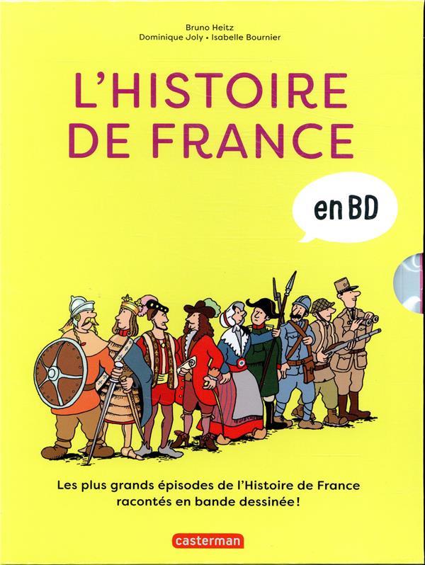 L'Histoire de France en BD ; COFFRET