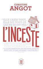 Vente Livre Numérique : L'inceste  - Christine Angot