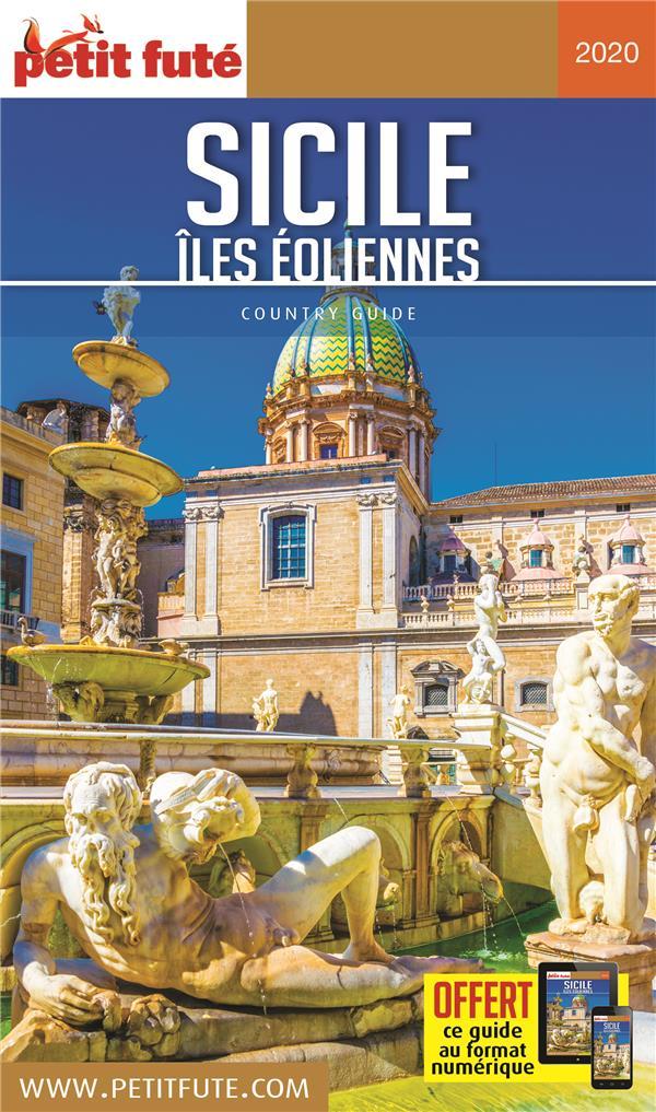 GUIDE PETIT FUTE ; COUNTRY GUIDE T.2020 ; Sicile ; îles éoliennes (édition 2020)