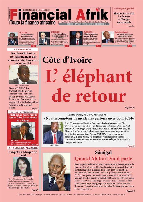 Financial Afrik n°14 décembre 2014