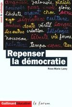 Couverture de Repenser la democratie